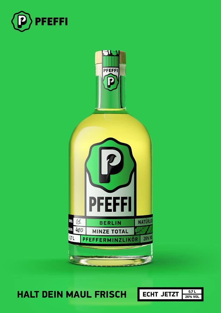 PFEFFI Berlin - Plakat