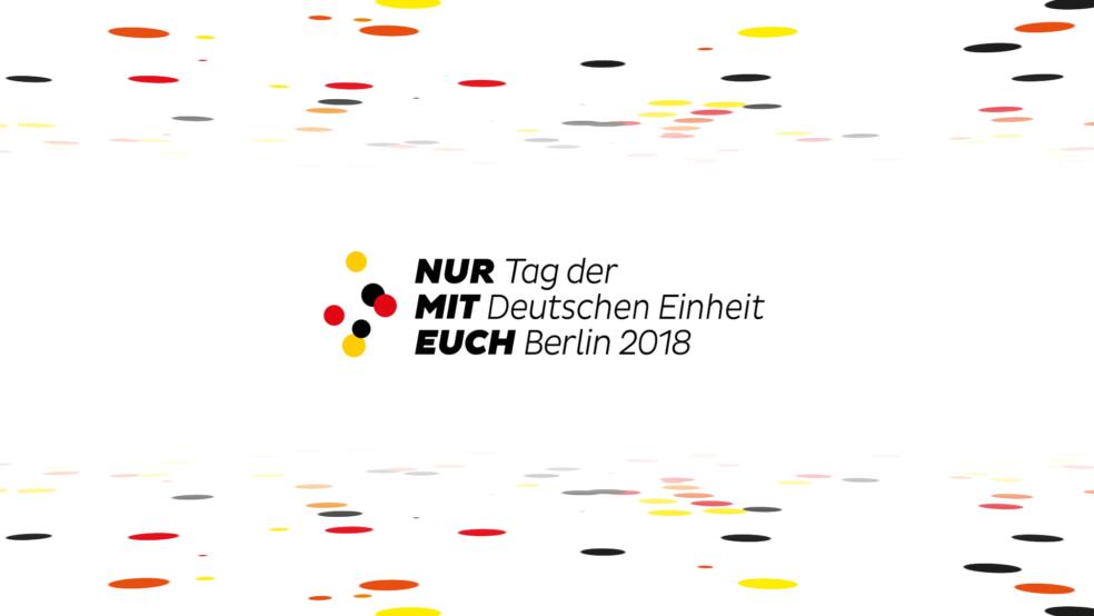 Tag der deutschen Einheit Logo